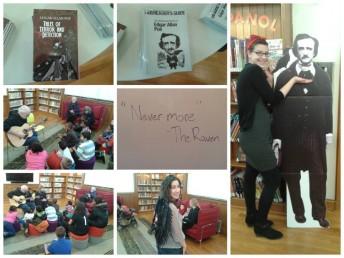 Poe Birthday -Stapleton NYPL collage