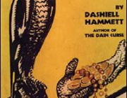 Maltese Falcon-yellow book cover